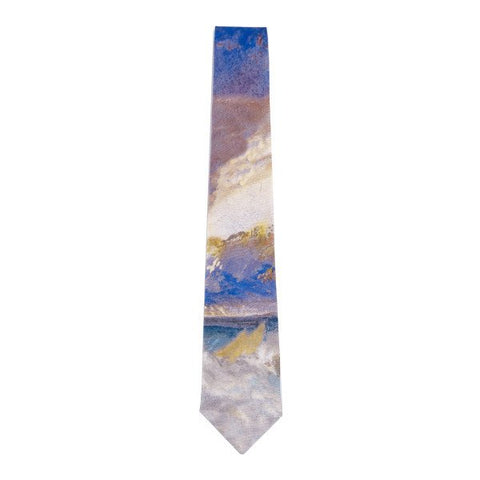 Sea View Joshep Mallord William Turner Silk Tie, National Galleries of Scotland - CultureLabel
