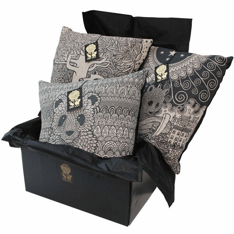 Set of 3 Cushions, Andy Wilx - CultureLabel - 1