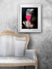 'Madame Blush' Stretched Printed Canvas, Mineheart Alternate View