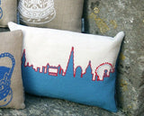 London Skyline - Red White and Blue, Fine Cell Work - CultureLabel - 3
