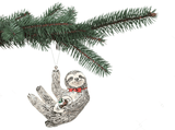 Theodore Sloth Christmas Tree Decoration, Jimbobart - CultureLabel - 3