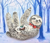 Theodore Sloth Christmas Tree Decoration, Jimbobart - CultureLabel - 2