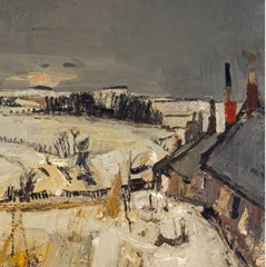 Snow Joan Eardley Christmas Card Pack (10 cards), National Galleries of Scotland Alternate View