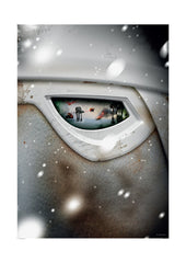 Visions of War - Snow Trooper (Framed), The Designers Nursery Alternate View
