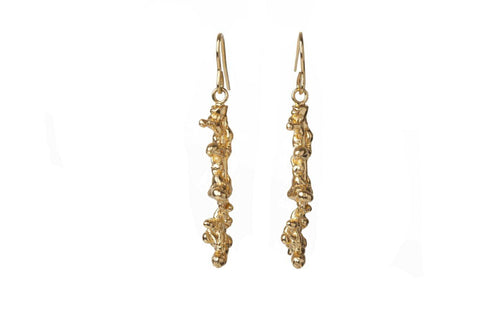 Spine Drop Earrings, Lenique Louis Alternate View