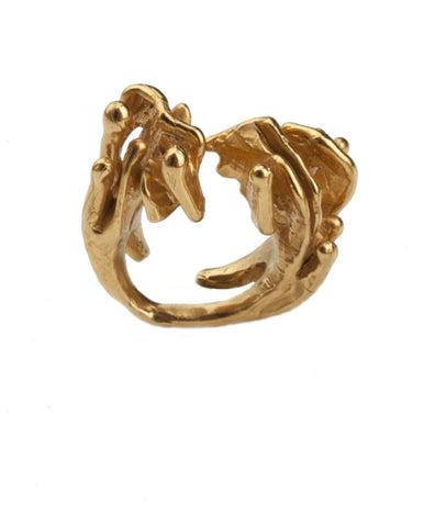 Eclipse Adjustable Ring, Lenique Louis - CultureLabel