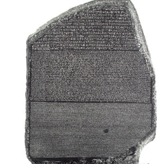 Rosetta Stone Bookend, The British Museum Alternate View