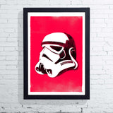 Star Wars Helmet - Stormtrooper (Framed), The Designers Nursery - CultureLabel - 1
