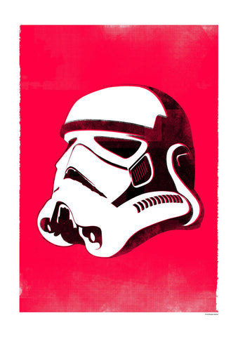 Star Wars Helmet - Stormtrooper (Framed), The Designers Nursery Alternate View
