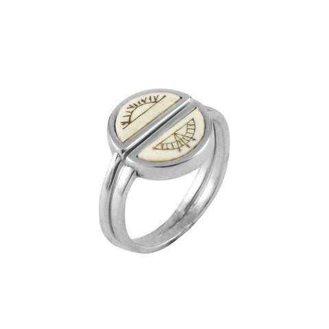 Sami Sun & Moon Rings, No 13 - CultureLabel - 1
