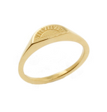 Sun Signet Ring, No 13
