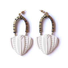 Temple Dome Earrings, Rosita Bonita