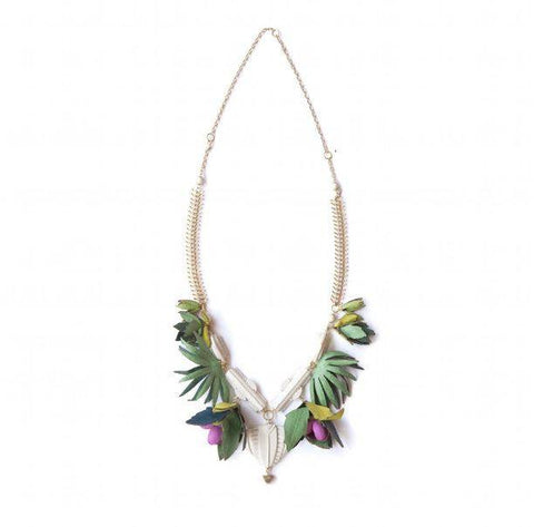 Jungle Temple Necklace, Rosita Bonita - CultureLabel - 1