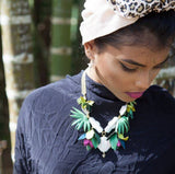 Jungle Temple Necklace, Rosita Bonita - CultureLabel - 2