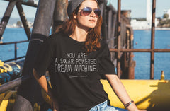Dream Machine Unisex T-Shirt, David Shillinglaw x Mind Alternate View
