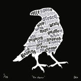 The Raven, Run For The Hills - CultureLabel - 2 (black full image)