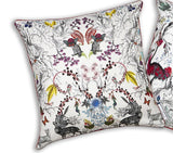 Thistle Detail Silk Cushion Cover, Kristjana S Williams - CultureLabel - 2