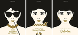 Exclusive: Limited Edition 'Ode to Audrey' Triptych, Matt Needle - CultureLabel