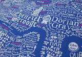 Literary London Map (Pink & White), Run For The Hills - CultureLabel - 4