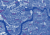Literary London Map (Pink & White), Run For The Hills - CultureLabel - 5