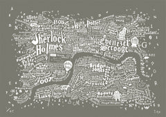Literary Central London (Smoke Grey), Run For The Hills