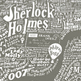 Literary Central London (Smoke Grey), Run For The Hills - CultureLabel - 3 (close up; 'Sherlock Holmes)