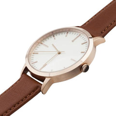 30 Edition - Rose Gold & Tan Ladies Watch, Freedom To Exist Alternate View