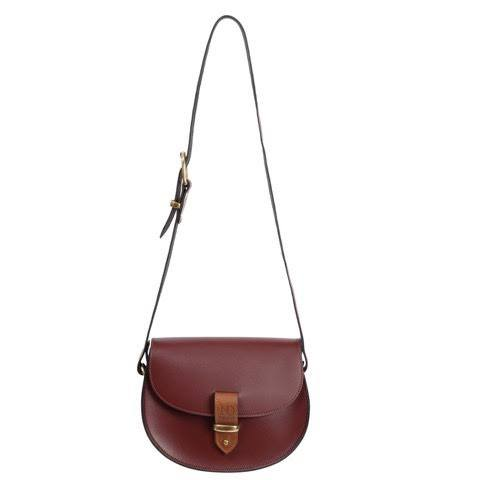 Victoria Oxblood Cross Body Bag, N