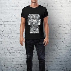 CultureLabel Collective: Sculpture of the Goddess T-Shirt (Black) Alternate View