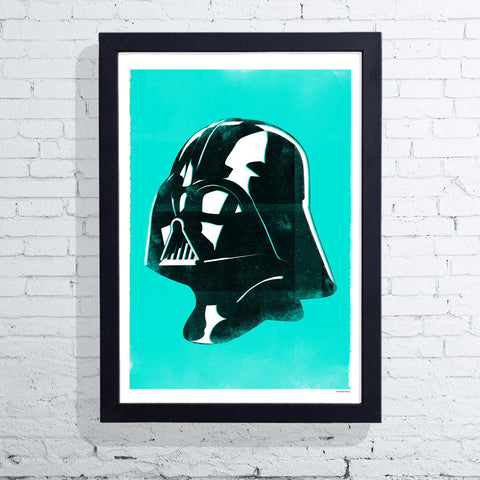 Star Wars Helmet - Vader (Framed), The Designers Nursery - CultureLabel