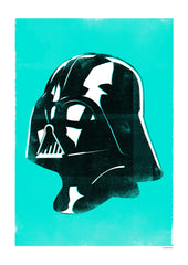 Star Wars Helmet - Vader (Framed), The Designers Nursery Alternate View