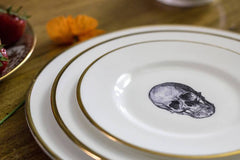 The Skull Bone China Plate | Melody Rose Alternate View