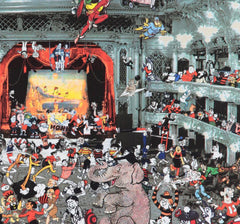 Marcel Duchamp's World Tour - DC Thompson Reunion at the Tower Ballroom, Blackpool (2016), Peter Blake Alternate View