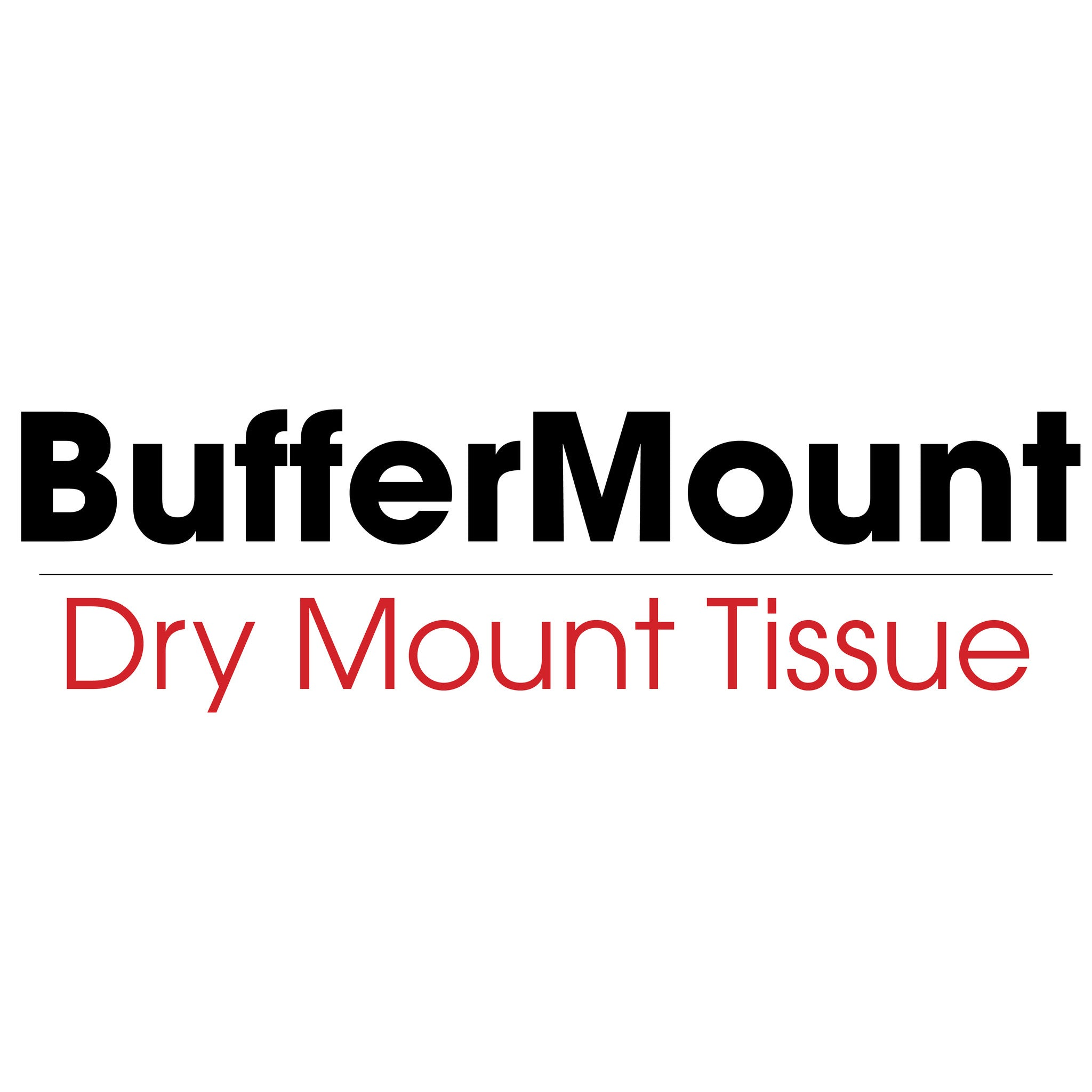BufferMount - Dry Mounting Tissue (heat activated) - mountingsubstrates.com