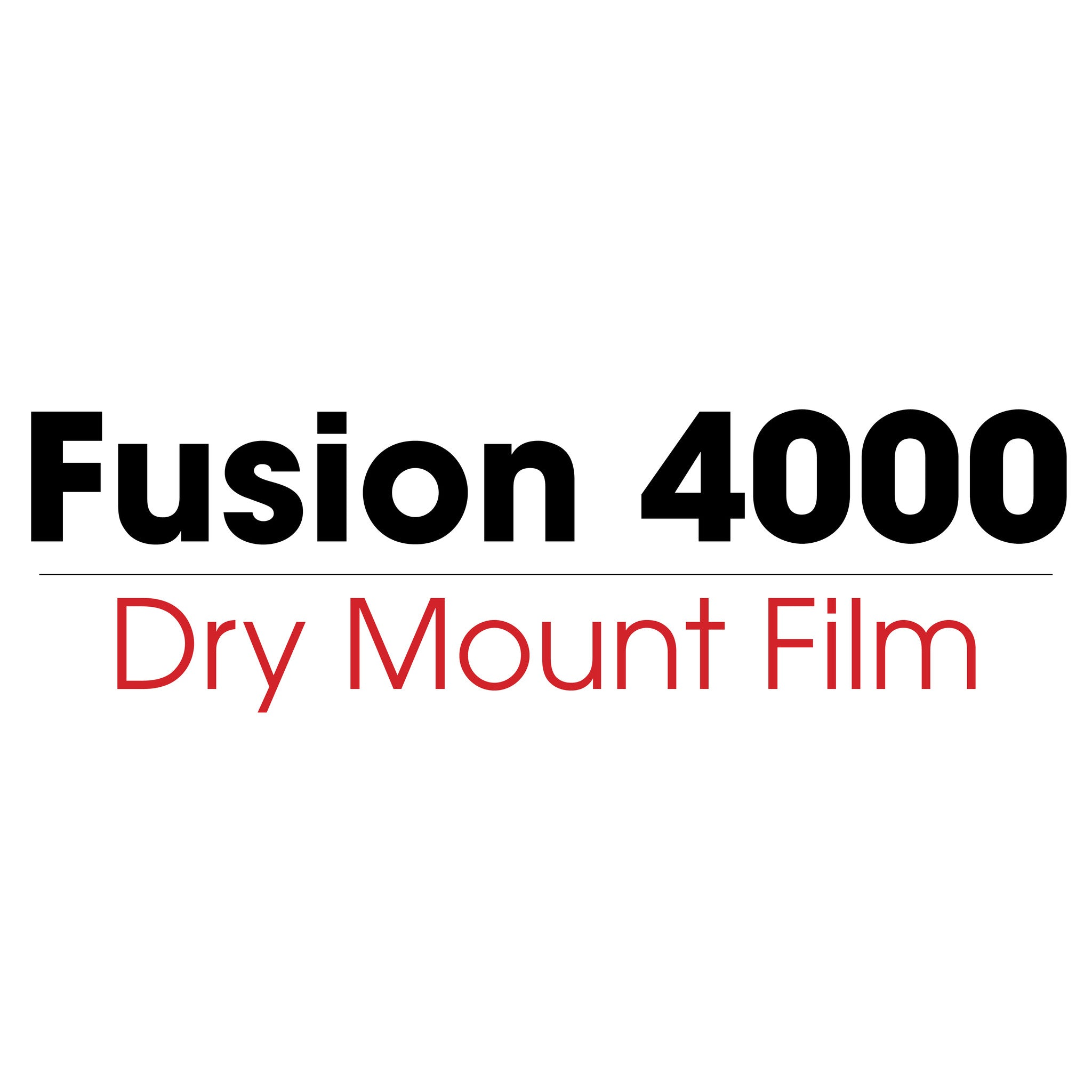 Fusion 4000 Acid Free - Dry Mount Film (heat activated) - mountingsubstrates.com