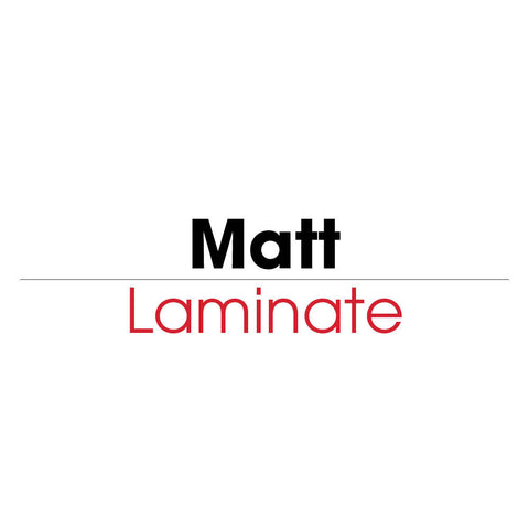 Matt Pre-Pierced Laminating Film (Heatseal) - mountingsubstrates.com