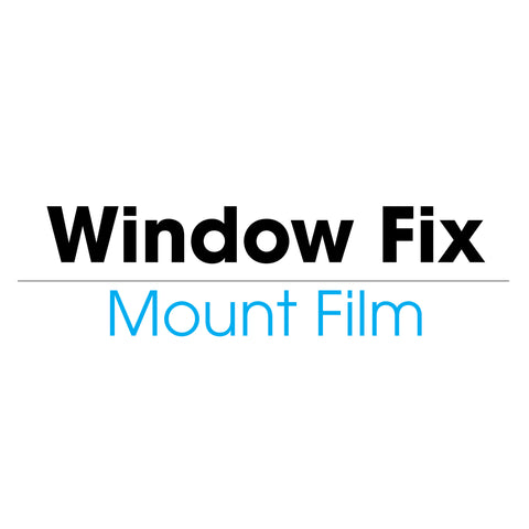 Window Fix Mount Film (cold) - mountingsubstrates.com
