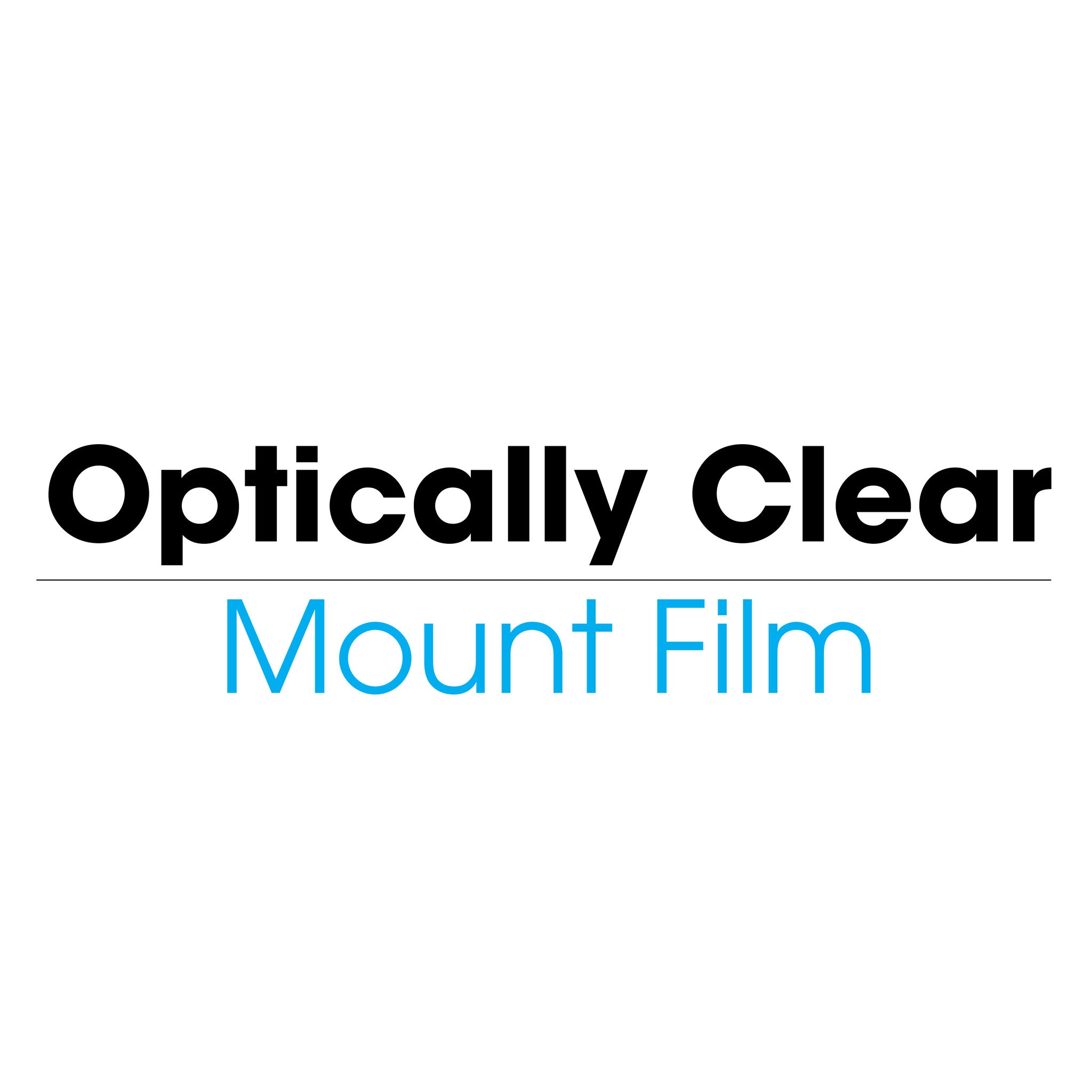 Optically Clear Mount Film (cold) - mountingsubstrates.com