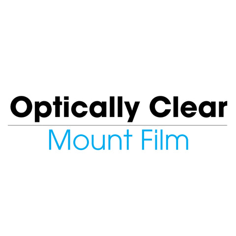 Optically Clear Mount Film (cold)