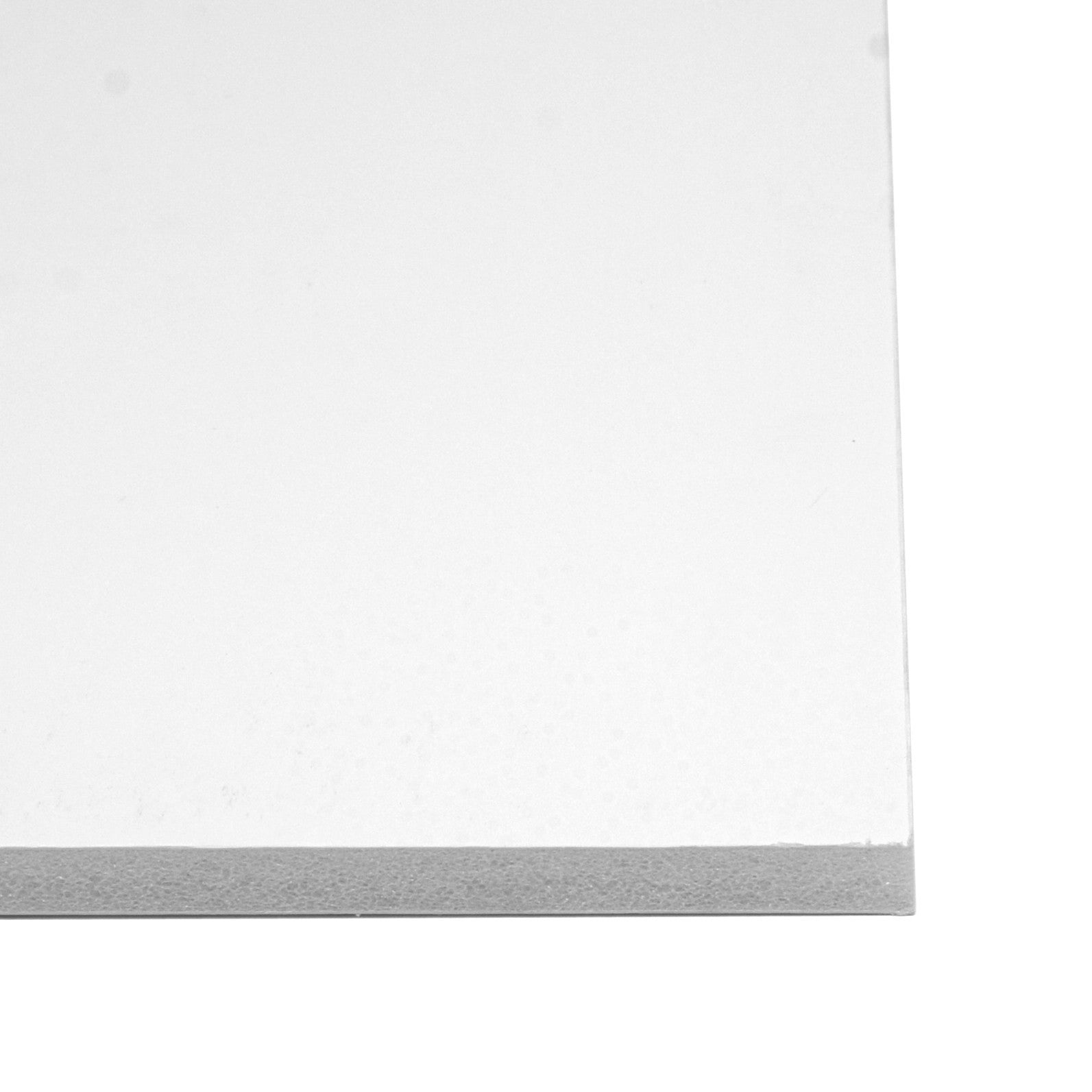 Foam Centred Board 10mm - White - mountingsubstrates.com