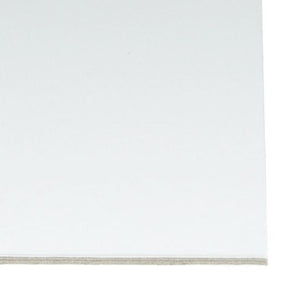 Foam Board Heat Activated 5mm - White - mountingsubstrates.com