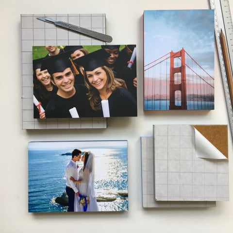 Photo Blocks 18mm - rectangle [We are sorry due to Covid19 the workrooms are temporarily closed] - mountingsubstrates.com