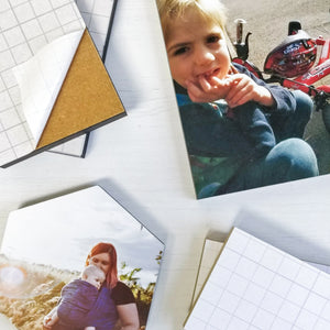 "Photo Blocks 18mm [rectangle sizes]  4""x 6"" up to 16""x 12"" - mountingsubstrates.com"