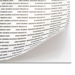 Foam Board Self Adhesive 3mm - White - mountingsubstrates.com