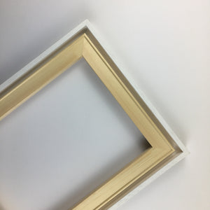 Canvas Edge Frame 'Duo Pack' with a Stretcher Bar Frame - mountingsubstrates.com