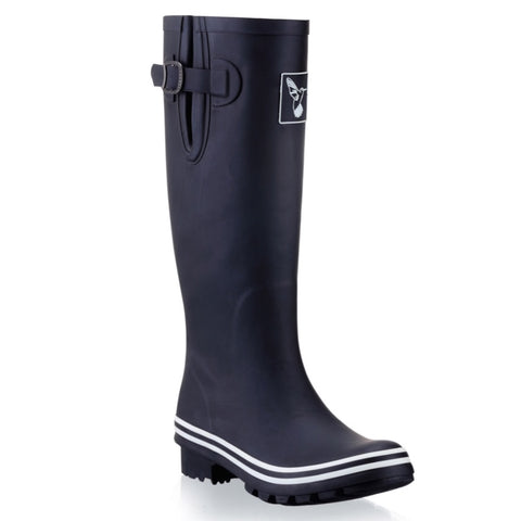 Evercreatures Ladies Wellington Plain Black