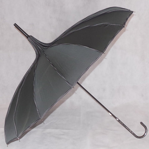 Ladies Umbrella Pagoda Princess Grey
