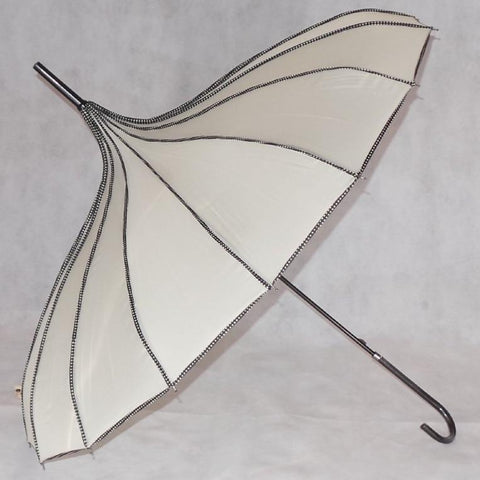 Ladies Umbrella Pagoda Princess Beige