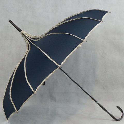 Ladies Umbrella Pagoda Princess Navy