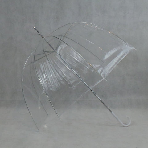 Ladies Umbrella Dome Clear Canopy